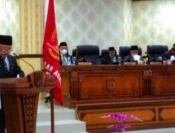 Bupati Agam Jawab Pandangan Fraksi DPRD Tentang Pembentukan dan Susunan Perangkat Daerah