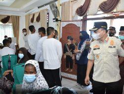 Kunjungi Vaksinasi di Koto Gadang VI Koto, Wabup Agam : Kita Kejar Tayang