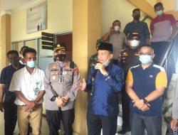 Wabup Agam Tinjau Vaksinasi Massal di Tanjung Mutiara